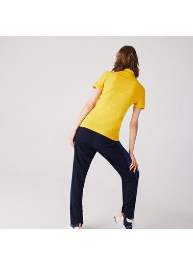 Lacoste Kadın Slim Fit Tişört PF5462.US3 Sarı